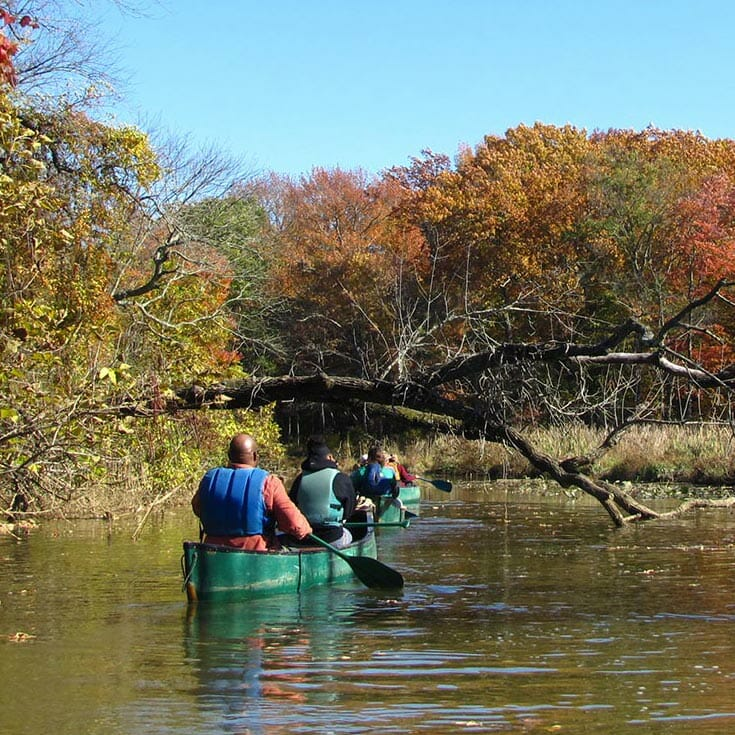 canoeing anita leight estuary