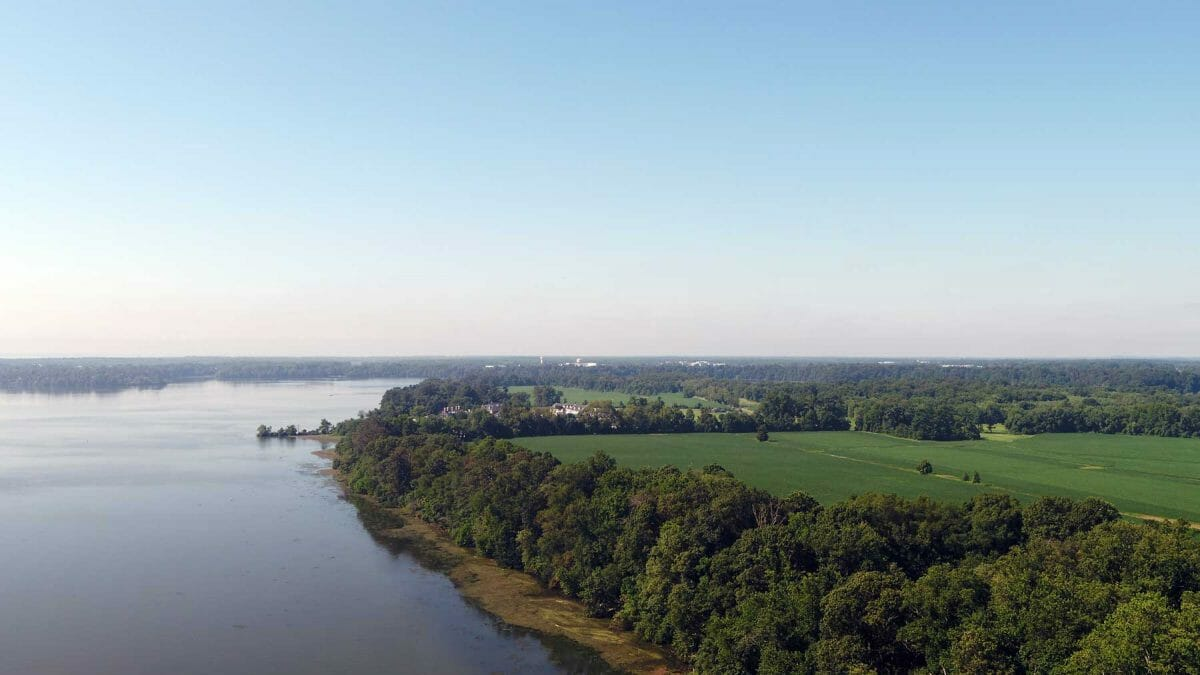 belle vue farm chesapeake shoreline