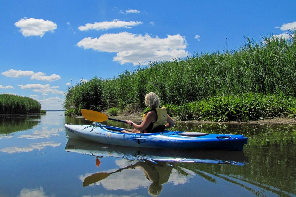 kayaking dundee creek harford county maryland dettner judy