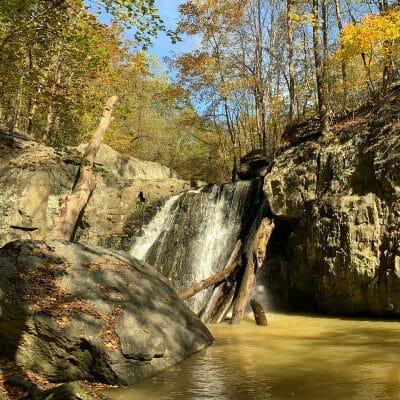 kilgore falls rocks state park