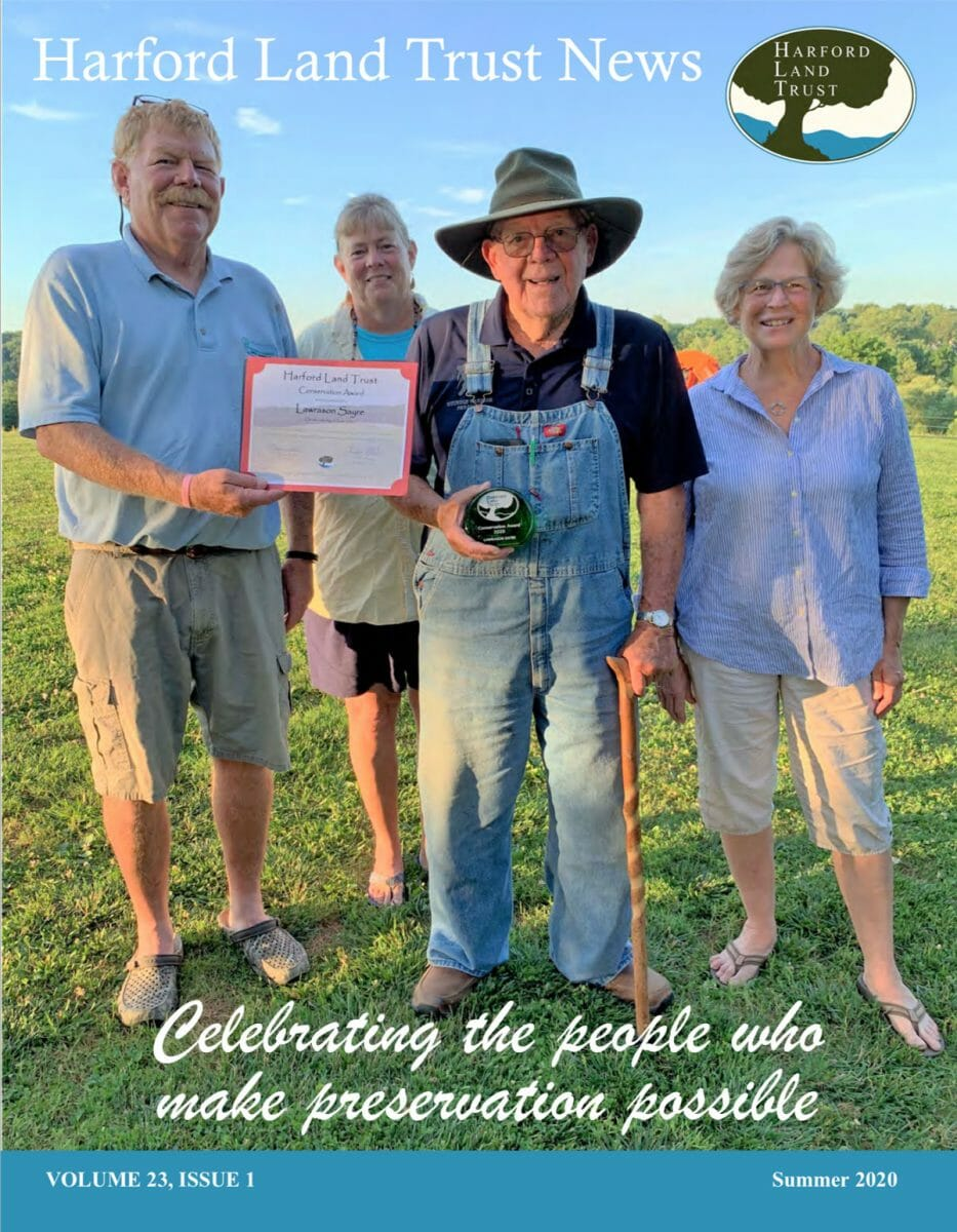 harford county conservation newsletter cover summer 2020